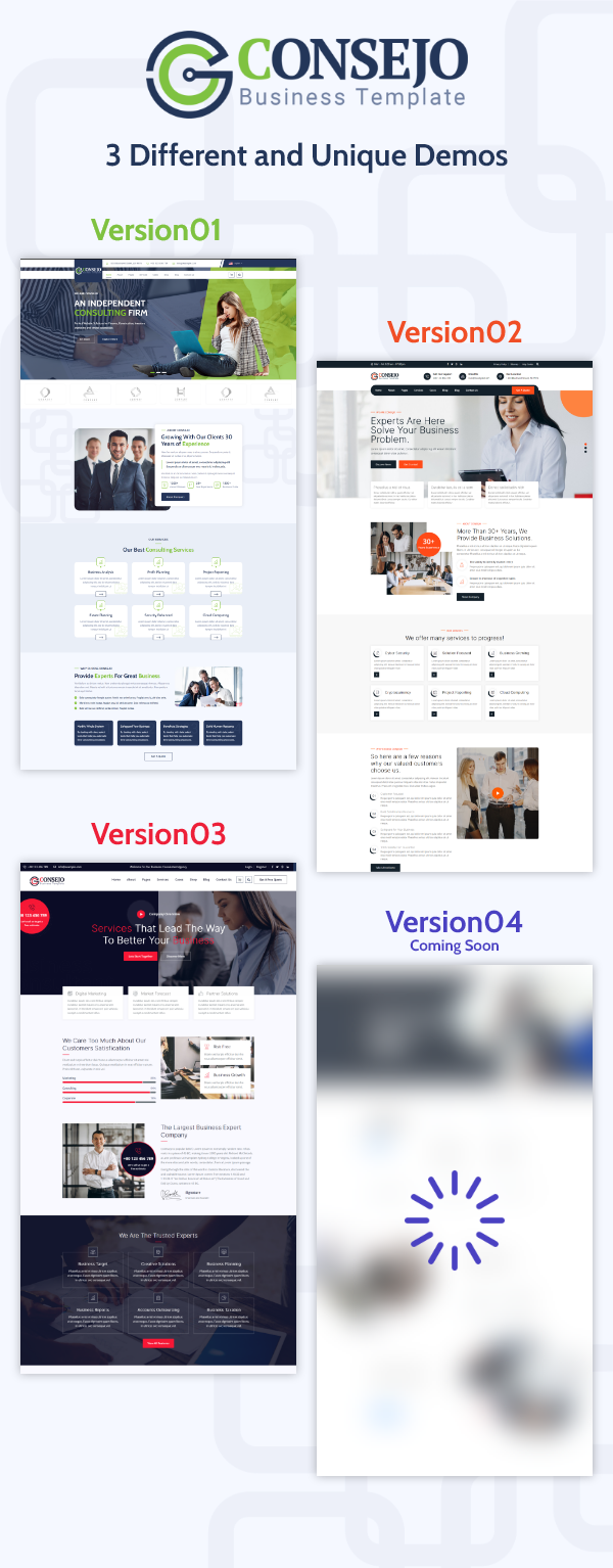 Consejo   Business HTML Template - 1